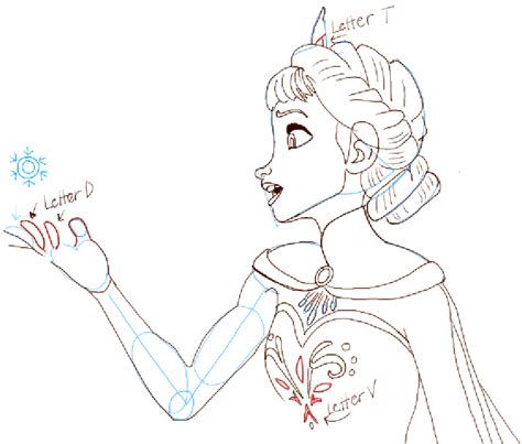 doodle draw how to draw elsa how to draw elsa from frozen how to draw step by step