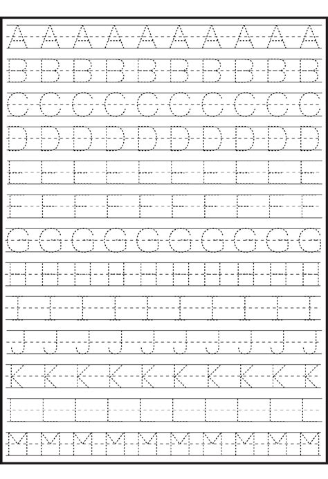 alphabet letter tracing templates traceable alphabet practice sheets printable numbers