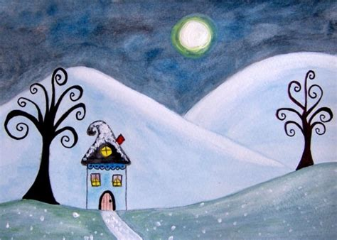 winter themed drawing rejuvenate your space with winter themed art elena