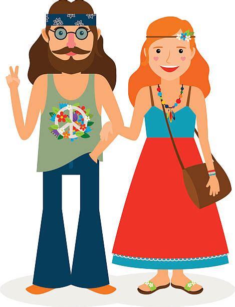 hippie clipart hippie clip vector images illustrations istock