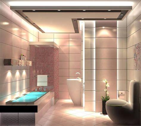 illuminazione doccia foto bagno con doccia e faretti a led di marilisa dones