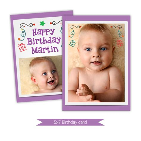 baby card template photoshop nuwzz happy birthday card photoshop template baby violet