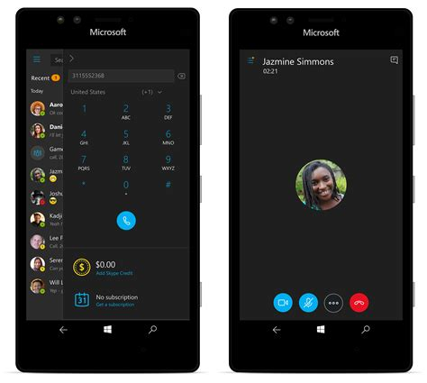 skype for mobile new skype preview now on mobile with the windows 10