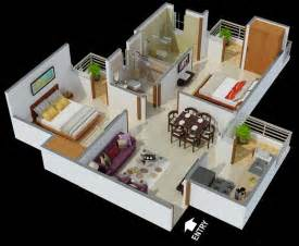 Best 2 Bhk House Plan Global Home