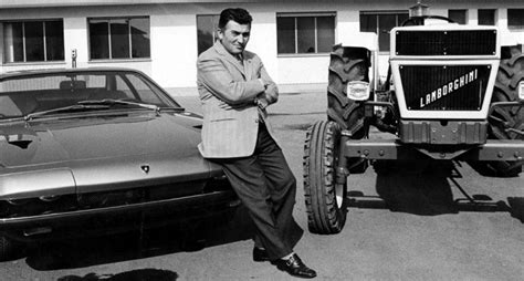 ferruccio lamborghini today in history the founder of lamborghini is born 1916