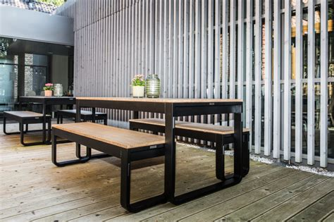 bamboo bench bar outdoor folding bench dining sets bamboo online reality