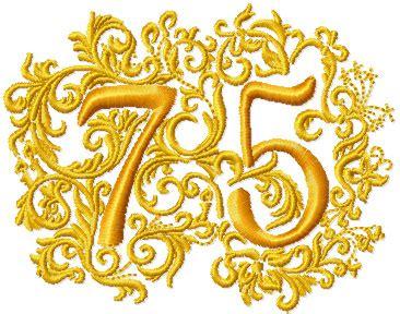 75th anniversary color 75th anniversary