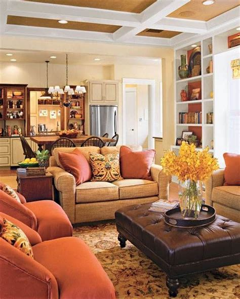 Warm Colors Living Room by Warm Family Room Colors Happy House