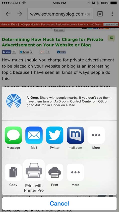 print from iphone how to print from iphone and without airprint wirelessly guide yologadget