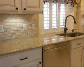 kitchen backsplash 3 quot x 6 quot crema marfil beveled subway