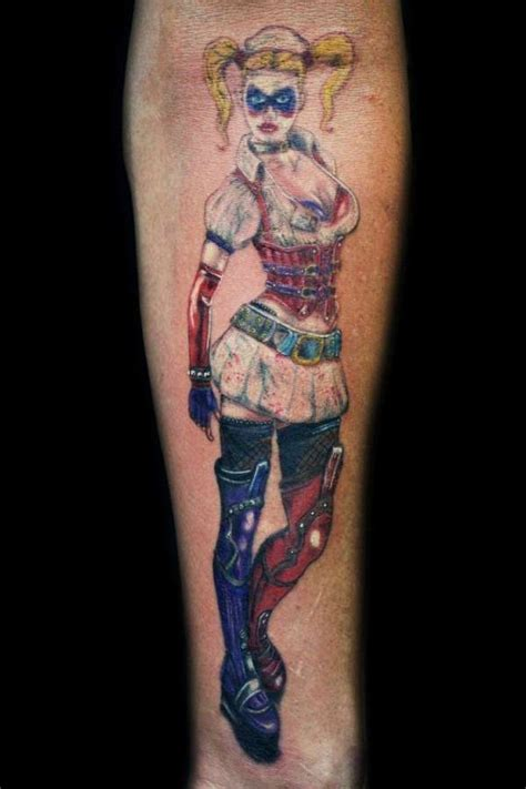 tattoo quin the joker harley quinn silhouette quot madly in love quot quot love