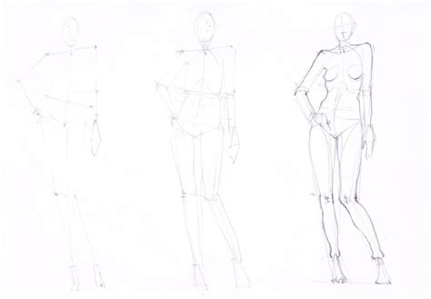 Drawing Human by Learn How To Draw Fashion Sketches With Ioana Avram Part 11