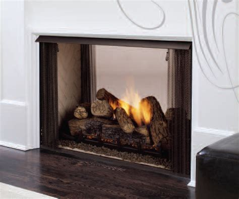 See Through Fireplace Insert by Monessen Ventless See Thru Firebox Gas Fireplace