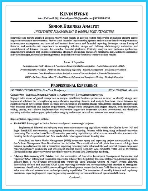 business analyst resume sample writing tips resume companion