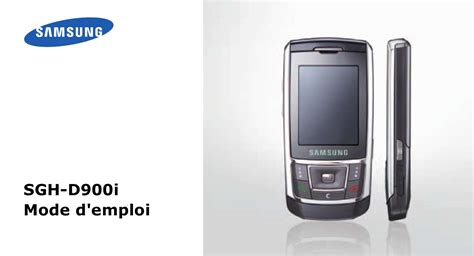 themes download samsung sgh d900i mode d emploi samsung sgh d900i t 233 l 233 phone portable
