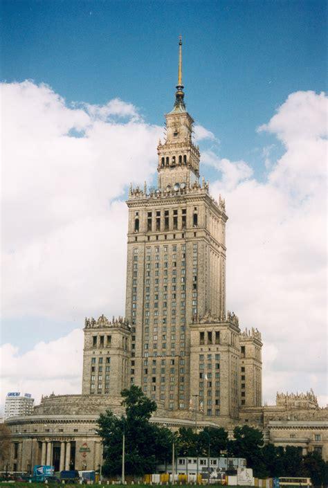 Culture De La by Voyage Pologne Varsovie Une Ville Historique Vacances