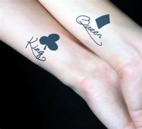 情侣纹身 情侣手腕英文爱情纹身图案 纹身堂