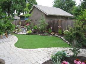 Landscaping Design Ideas For Backyard by Small Backyard Makeover Srp Enterprises Weblog