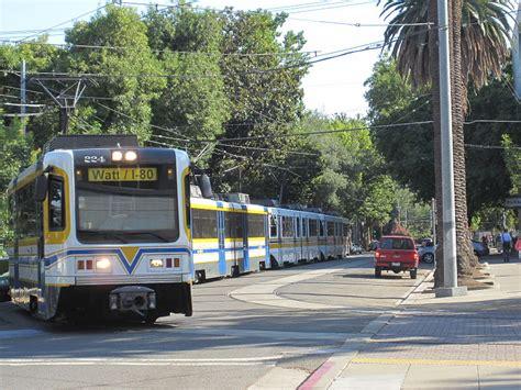 Rt Light Rail by Sacramento Ca Railfan Guide