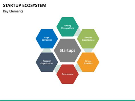 startup ecosystem powerpoint template sketchbubble