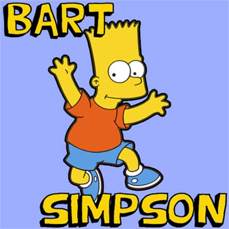 simple simpson wikipedia how to draw bart simpson jumping with easy steps drawing