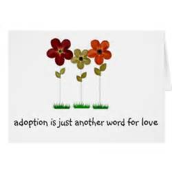 adoption greeting card zazzle