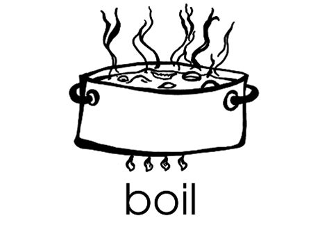 boiling water coloring page cooking pot coloring pages