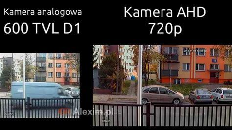 Cctv Ahd 13 720p por 243 wnanie kamery ahd 720p z kamerą 600 tvl d1