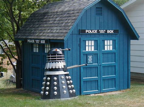 Tardis Shed For Sale by Backyard Shed Tardis Boing Boing
