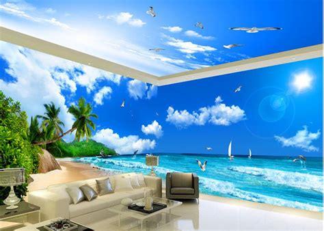 wallpaper dinding motif alam referensi wallpaper dinding ruang rumah yg unik dan keren