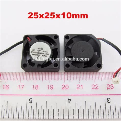 small but powerful fan 3v 5v 12v 2510 powerful small fan 25 25 10mm small size dc