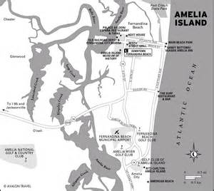 map of amelia island florida