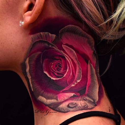 neck piece tattoo designs 15 beautiful neck tattoos tattoodo