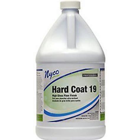nyco coat 19 top coat durable floor finish wax