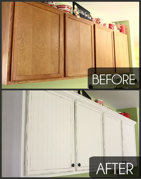 Easy kitchen cupboard makeover tips on how to get the look you want