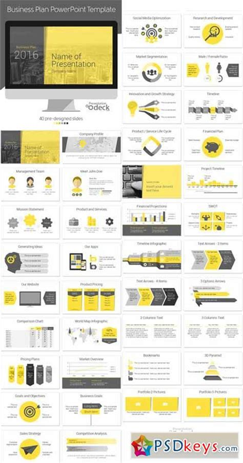 design powerpoint template photoshop business plan powerpoint template 393333 187 free download