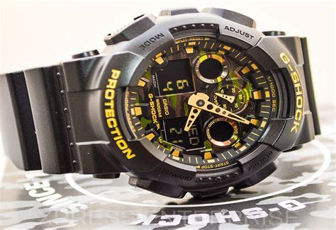 Gshock Time casio gshock camo ga100cf 1a9 review how to set time