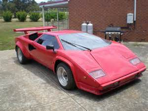 For Sale Lamborghini Countach Used Lamborghini Countach Replica For Sale