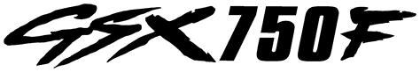 Suzuki Katana Logo Gsx750f Decal Awesome Graphics