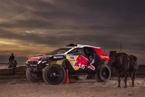 Peugeot 2008 Dkr Ready To Race At Dakar Rally 2015