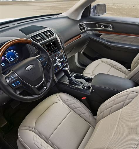 Ford Explorer Interior Pictures by 2017 Ford 174 Explorer Suv Features Ford
