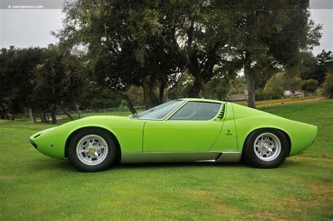 1970 Lamborghini Miura Auction Results And Data For 1970 Lamborghini Miura P400s