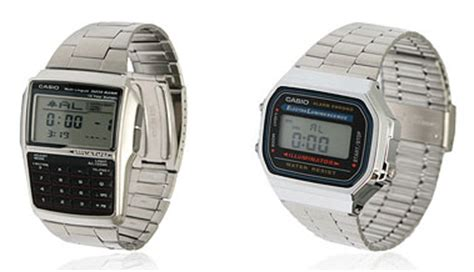 casio retro data bank and digital watches retro to go