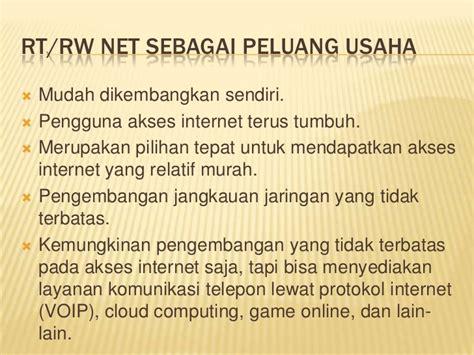 cara membuat usaha rt rw net usaha rt rw net