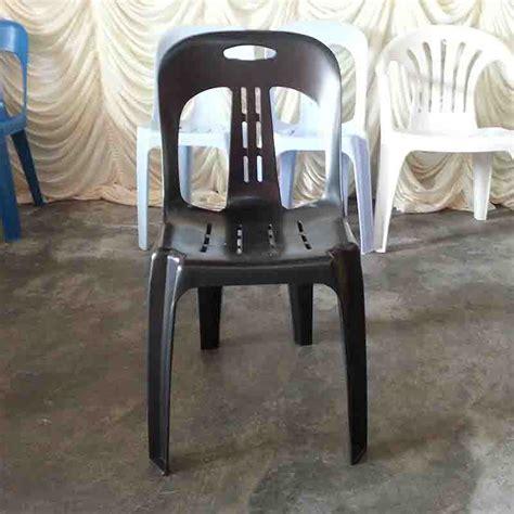 Acrylic Warna Hitam kerusi plastik warna hitam black plastic chairs