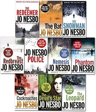 libro police a harry hole jo nesbo harry hole thriller collection 10 books set police the bat the leopard phantom