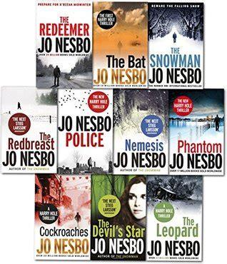 police a harry hole jo nesbo harry hole thriller collection 10 books set police the bat the leopard phantom