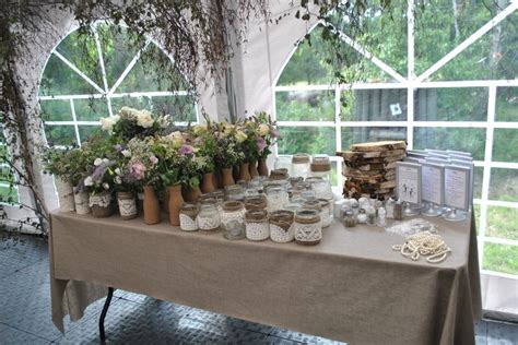 Nature Themes Jar   nature theme decorations ready for the tables mason jars