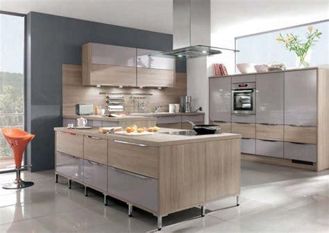 glossy lacquer with natural wood kitchen design vitrea odina gray grey gloss wood mix kitchen units kitchen