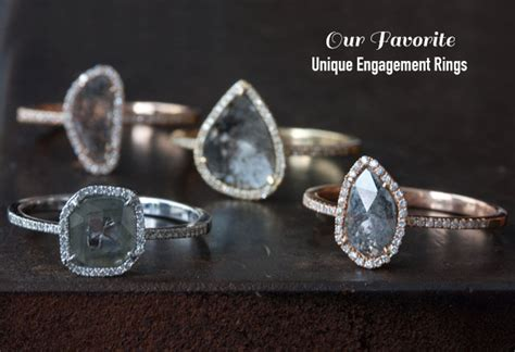 unique engagement rings ring cleaning tips from jewelers